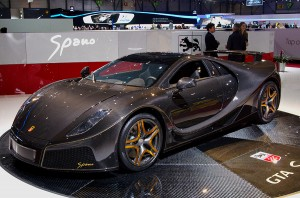Spania GTA Spano left view